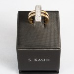 S. Kashi Diamond (0.42ct) ring, 14kt white and yellow gold